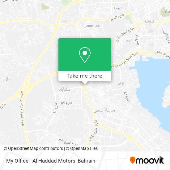 My Office - Al Haddad Motors map