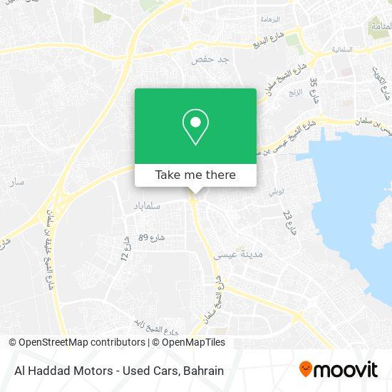 Al Haddad Motors - Used Cars map
