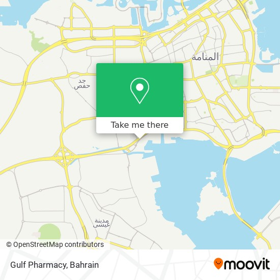 Gulf Pharmacy map