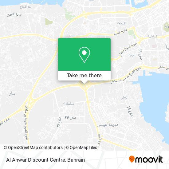 Al Anwar Discount Centre map