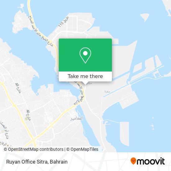 Ruyan Office Sitra map