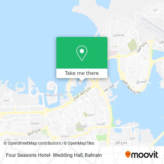 Four Seasons Hotel- Wedding Hall map