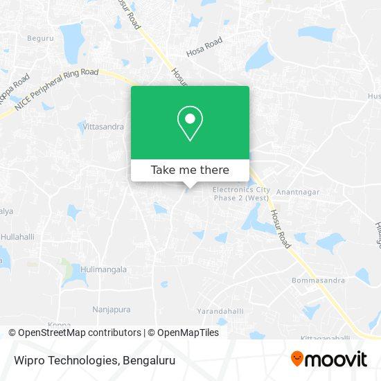 Wipro Technologies map