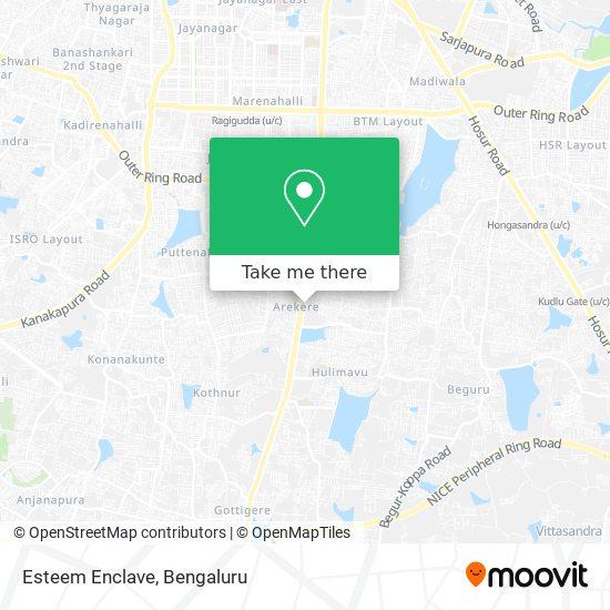 Esteem Enclave map
