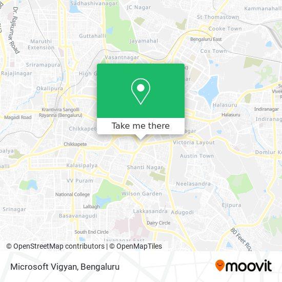 Microsoft Vigyan map