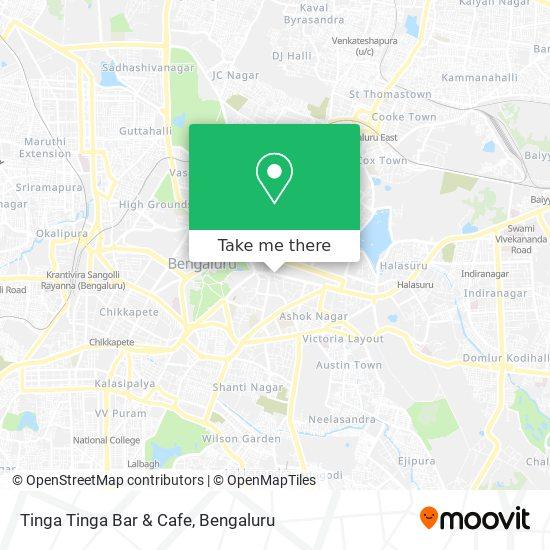 Tinga Tinga Bar & Cafe map