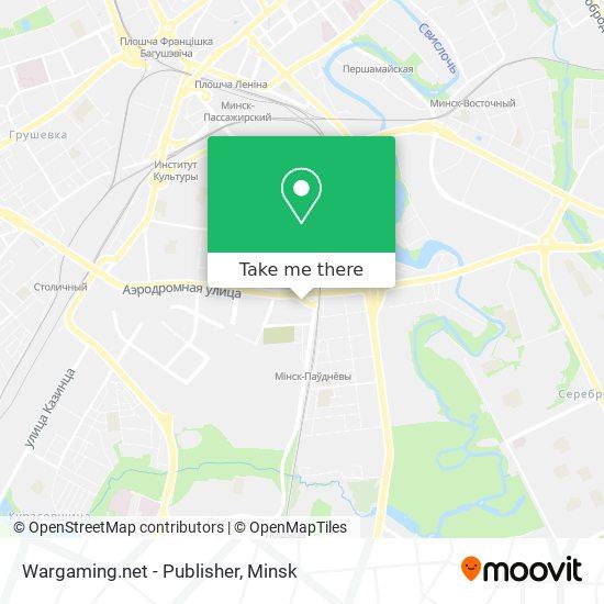 Wargaming.net - Publisher map