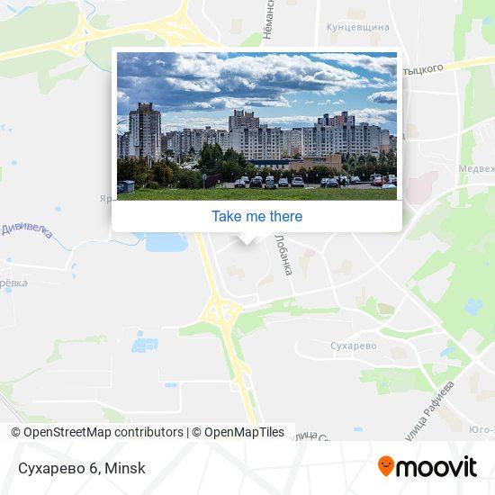Сухарево 6 map