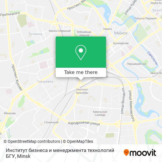 Институт бизнеса и менеджмента технологий БГУ map