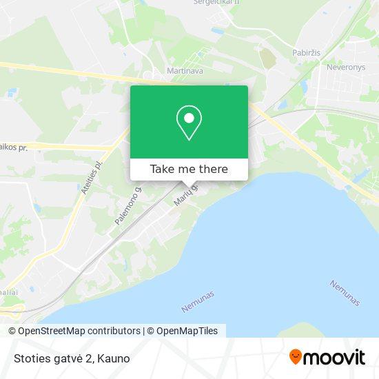 Stoties gatvė 2 map
