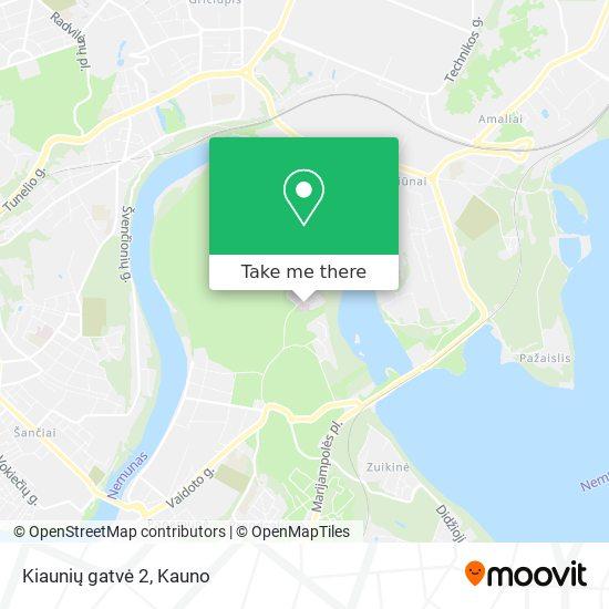 Kiaunių gatvė 2 map