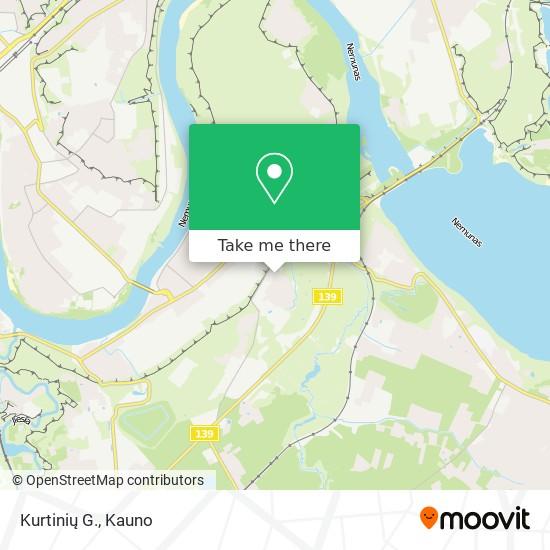 Kurtinių G. map