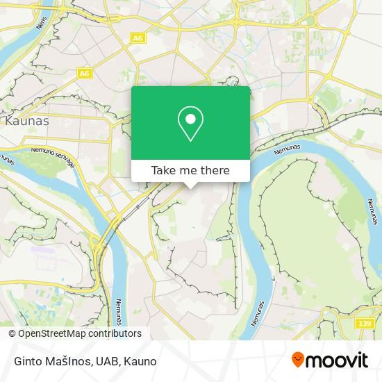 Ginto MašInos, UAB map