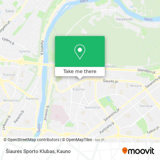 Šiaurės Sporto Klubas map