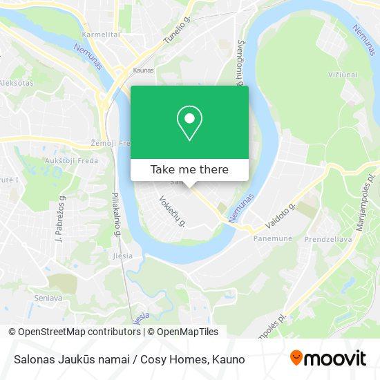 Salonas Jaukūs namai / Cosy Homes map