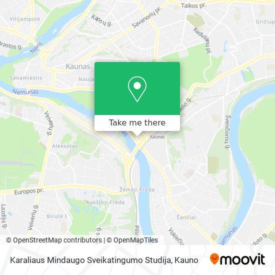 Karaliaus Mindaugo Sveikatingumo Studija map
