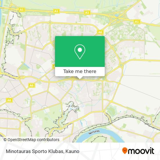 Minotauras Sporto Klubas map