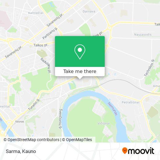 Sarma map