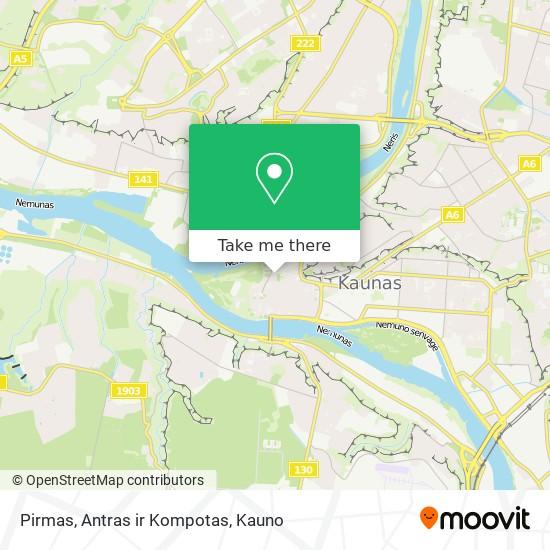 Pirmas, Antras ir Kompotas map