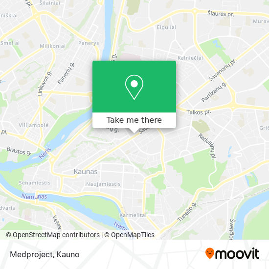 Medproject map