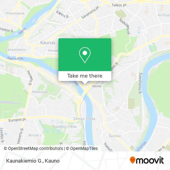 Kaunakiemio G. map