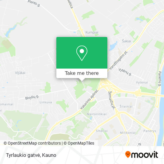 Tyrlaukio gatvė map