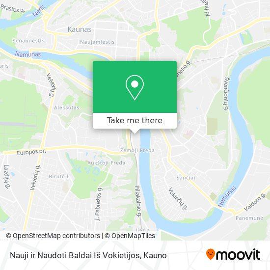 Nauji ir Naudoti Baldai Iš Vokietijos map