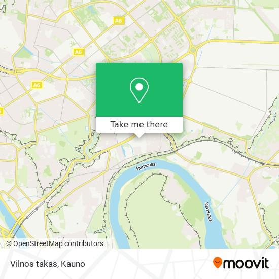Vilnos takas map