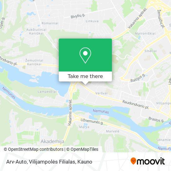 Arv-Auto, Vilijampolės Filialas map