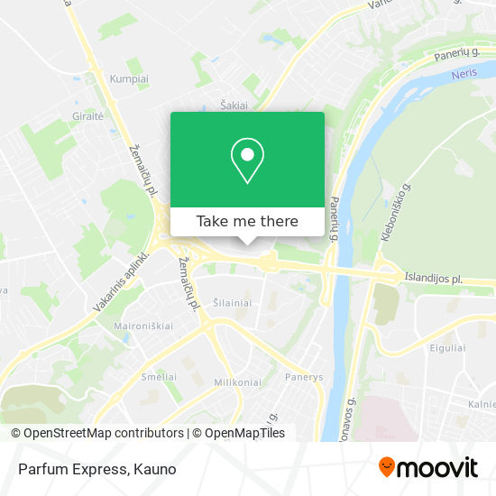 Parfum Express map
