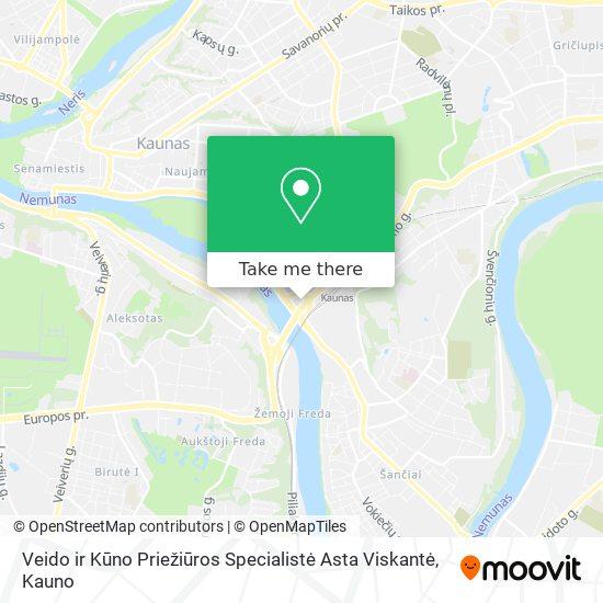 Veido ir Kūno Priežiūros Specialistė Asta Viskantė map