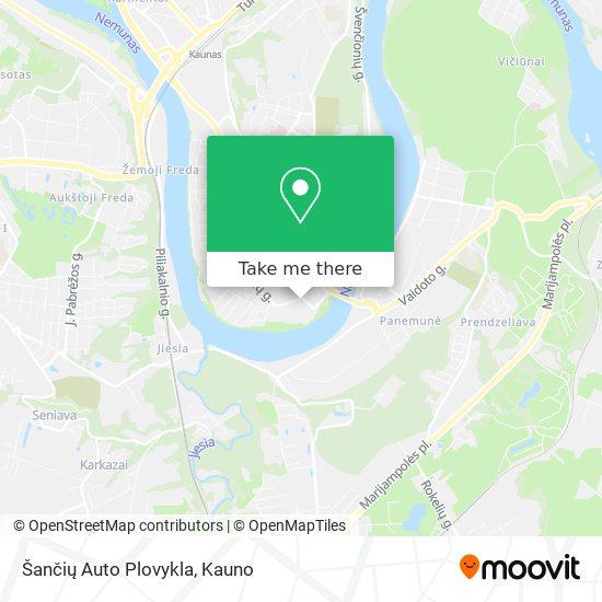Šančių Auto Plovykla map
