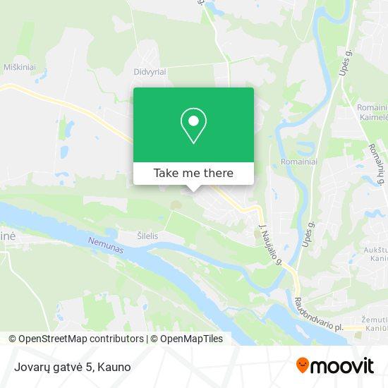 Jovarų gatvė 5 map