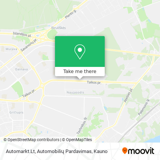 Automarkt.Lt, Automobilių Pardavimas map