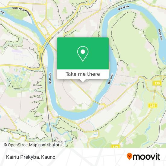 Kairiu Prekyba map