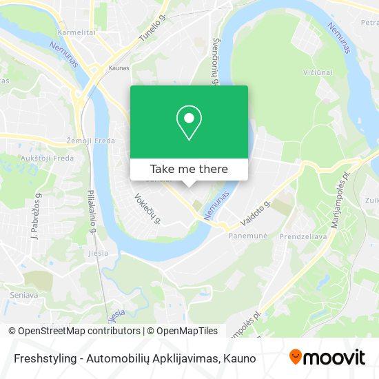 Freshstyling - Automobilių Apklijavimas map