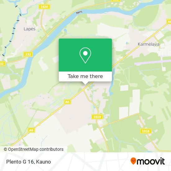 Plento G 16 map