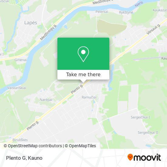Plento G map