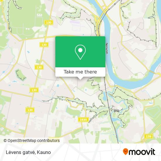 Lėvens gatvė map