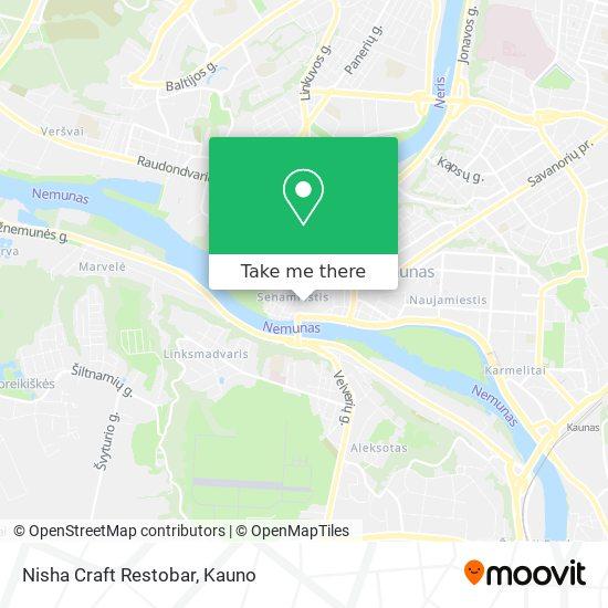 Nisha Craft Restobar map