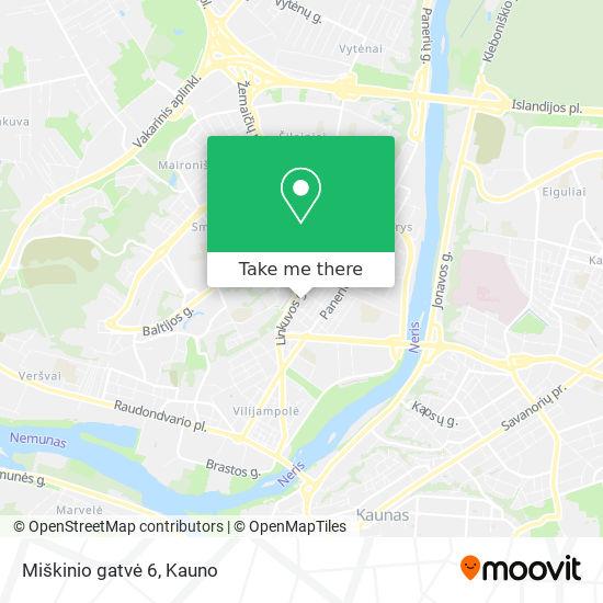 Miškinio gatvė 6 map