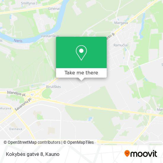 Kokybės gatvė 8 map