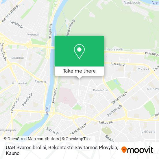 UAB Švaros broliai, Bekontaktė Savitarnos Plovykla map