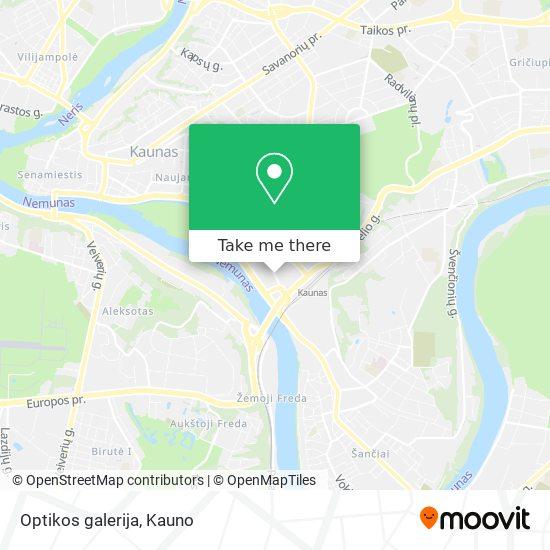 Optikos galerija map
