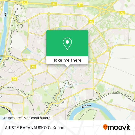 AIKSTE BARANAUSKO G map