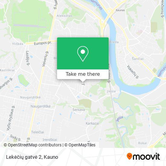 Lekėčių gatvė 2 map