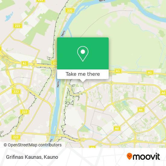 Grifinas Kaunas map