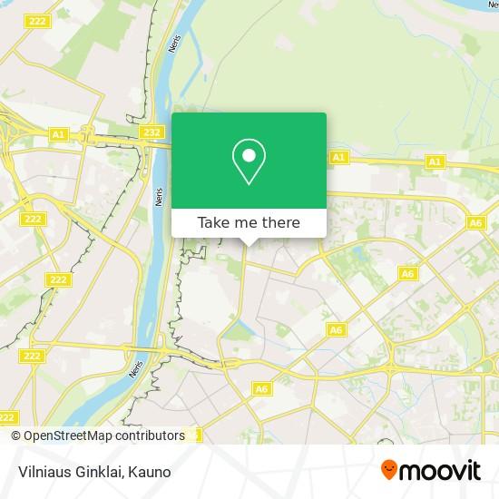 Vilniaus Ginklai map
