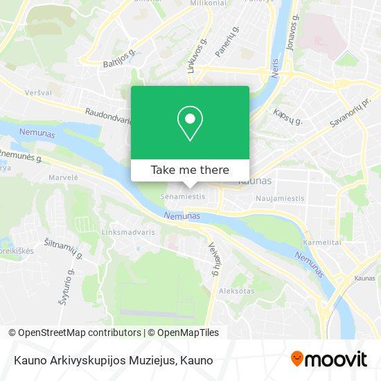 Kauno Arkivyskupijos Muziejus map