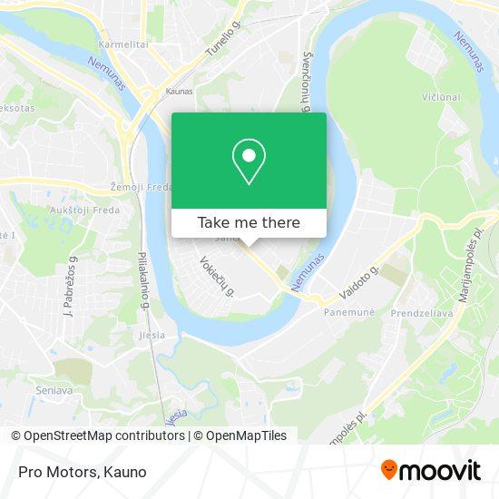 Pro Motors map